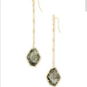 Kendra Scott Charmain Sage Mica Earrings